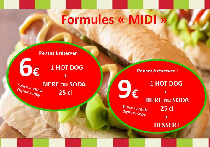 Hot dog midi